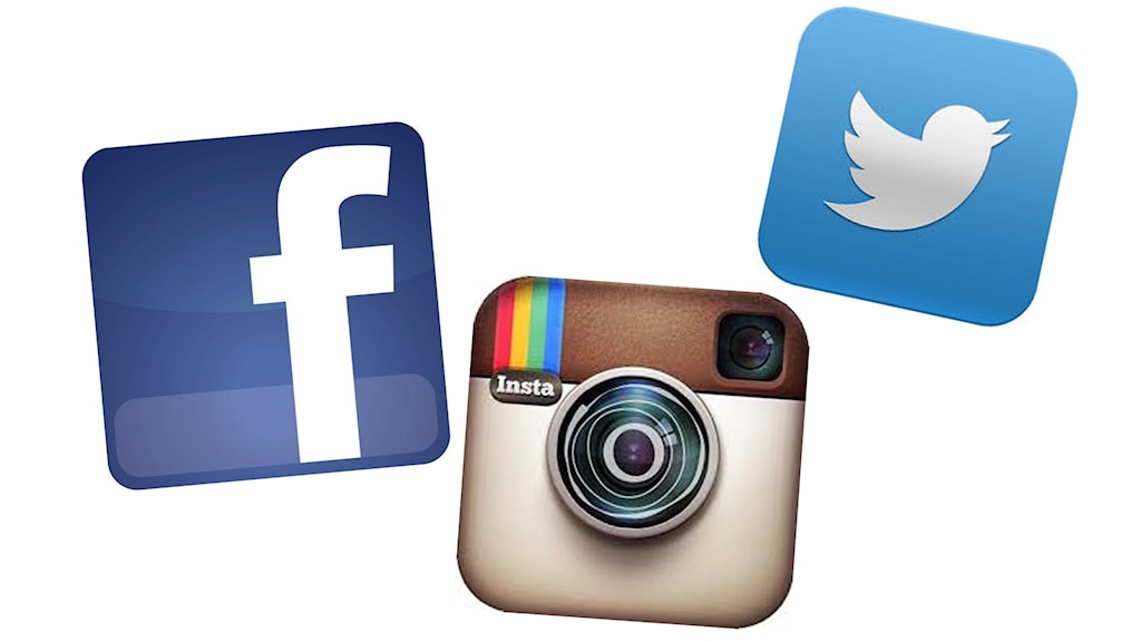 Sociala medier-loggor.