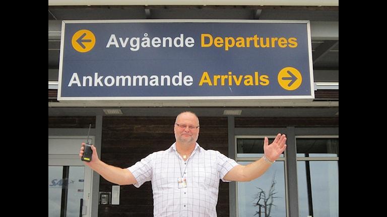 Ralf Lundberg, chef Arvidsjaurs flygplats