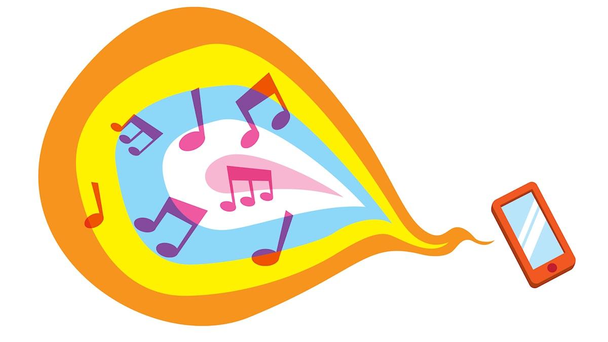 Lyssna på Radioapans knattekanal i mobilen!