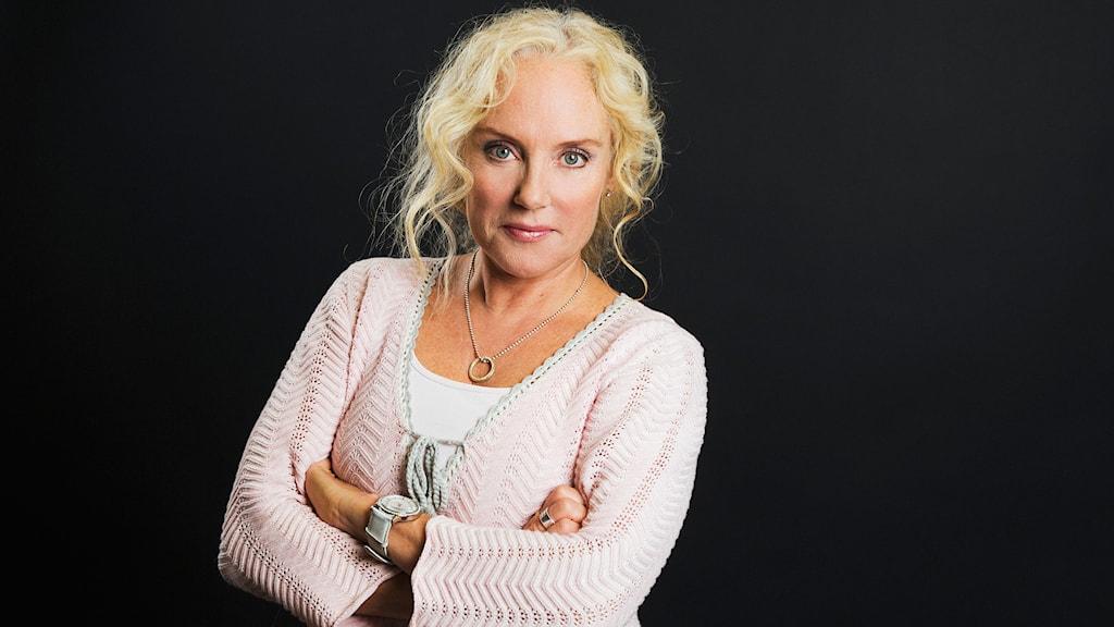 Pia Fridén. Foto: Mattias Ahlm/Sveriges Radio