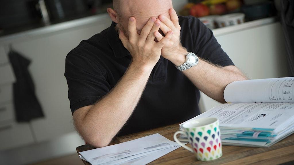 Att få skuldsanering hjälper inte vid ohälsa enligt ny forksning