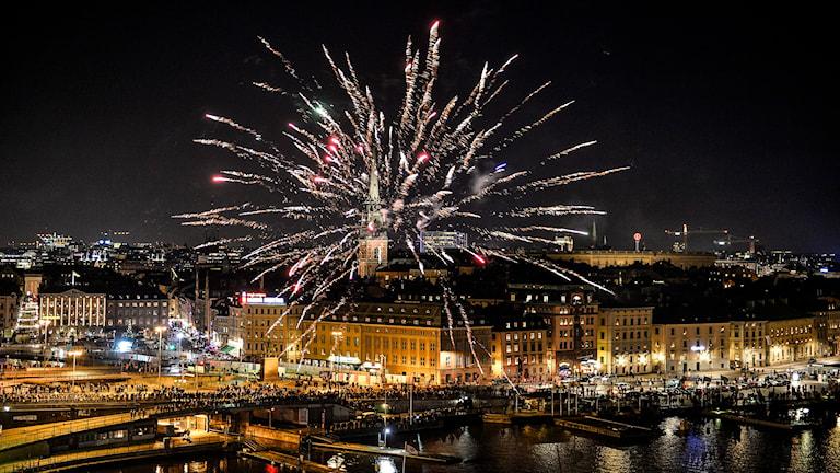 Nyår. Foto: Anders Wiklund/TT