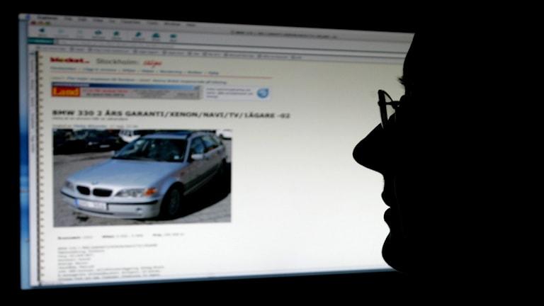 Konsument dragen inför estnisk domstol efter bilvärdering på nätet.