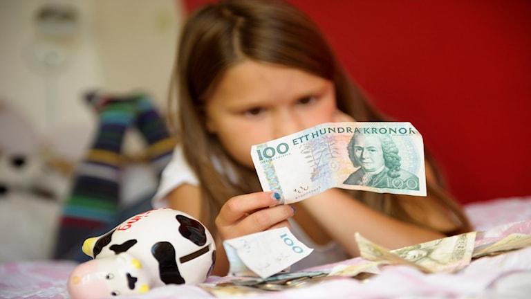 Konflikter med barn om pengar