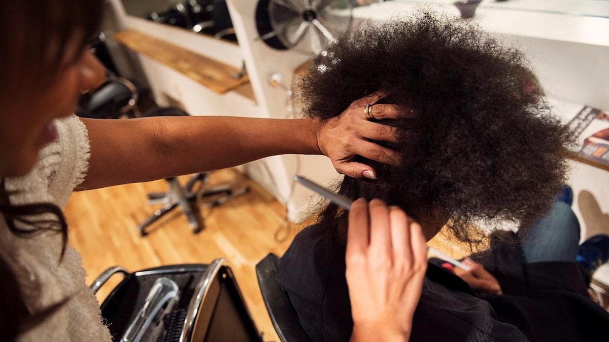 Inte alltid lätt att klaga på frisören.