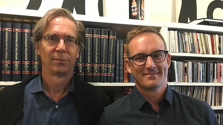 Hans Lind och Fredrik B Nilsson
