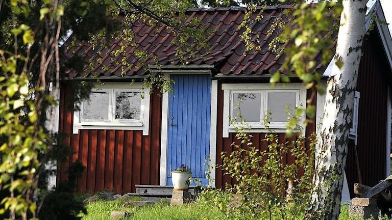 Stuga Foto: Hasse Holmberg/TT