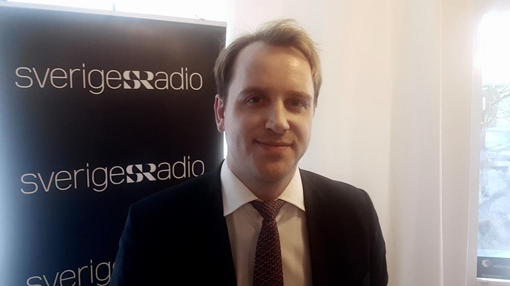 Christoffer Ahnemark, analysansvarig på Aktiespararna