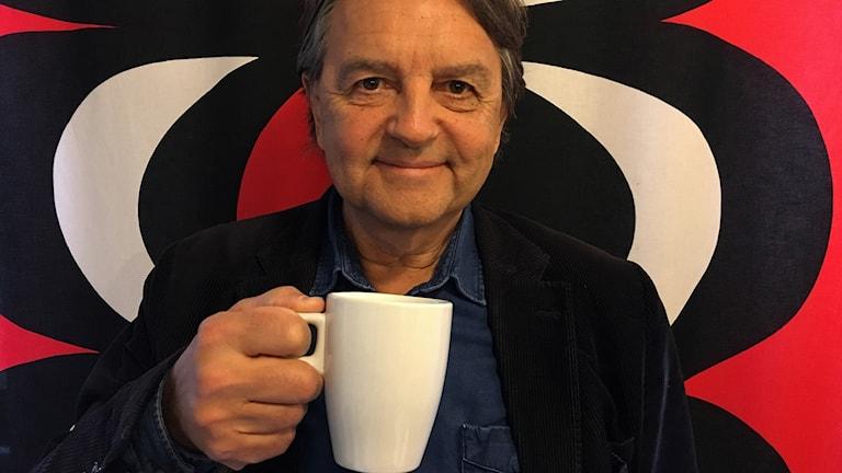 Donald Boström, författare till Kaffeboken.