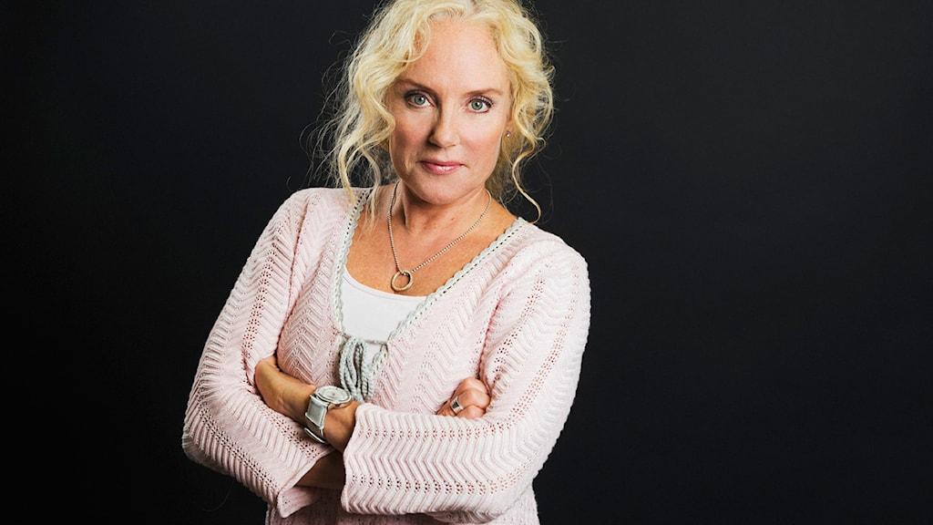 Pia Fridén. Foto: Mattias Ahlm Sveriges Radio