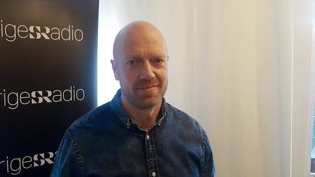 Martin Fälling, gruppchef vid bedrägerisektionen hos Stockholmspolisen