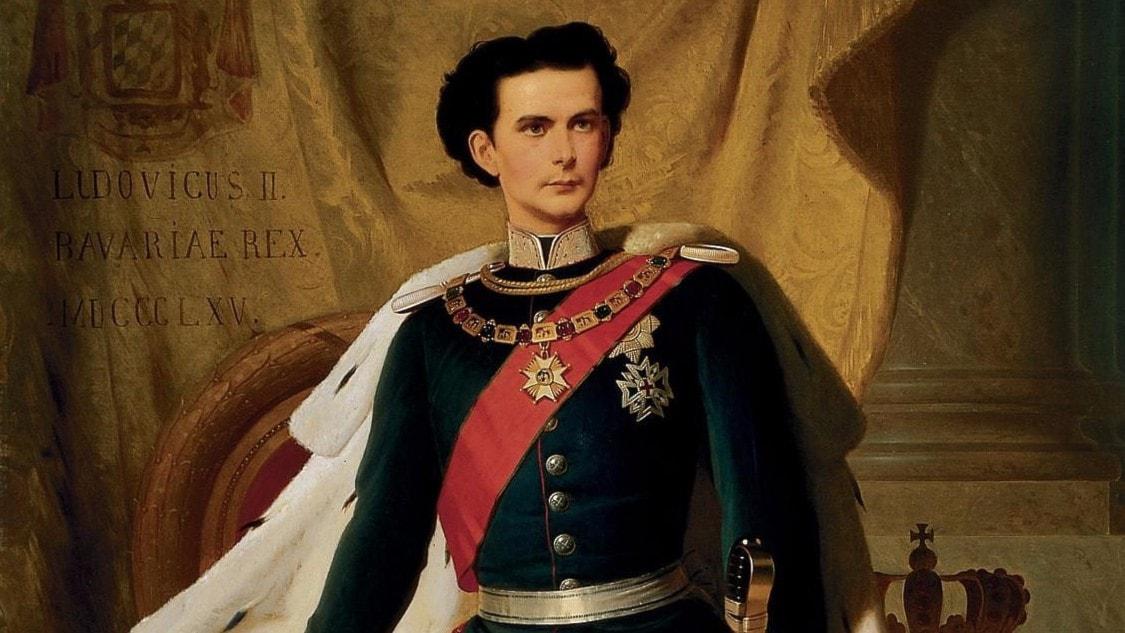 Ludvig II av Bayern – en knasigt stilmedveten skapare av sagoslott