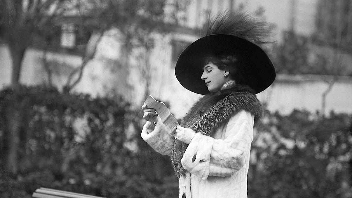 Margaretha Zelle alias Mata Hari.