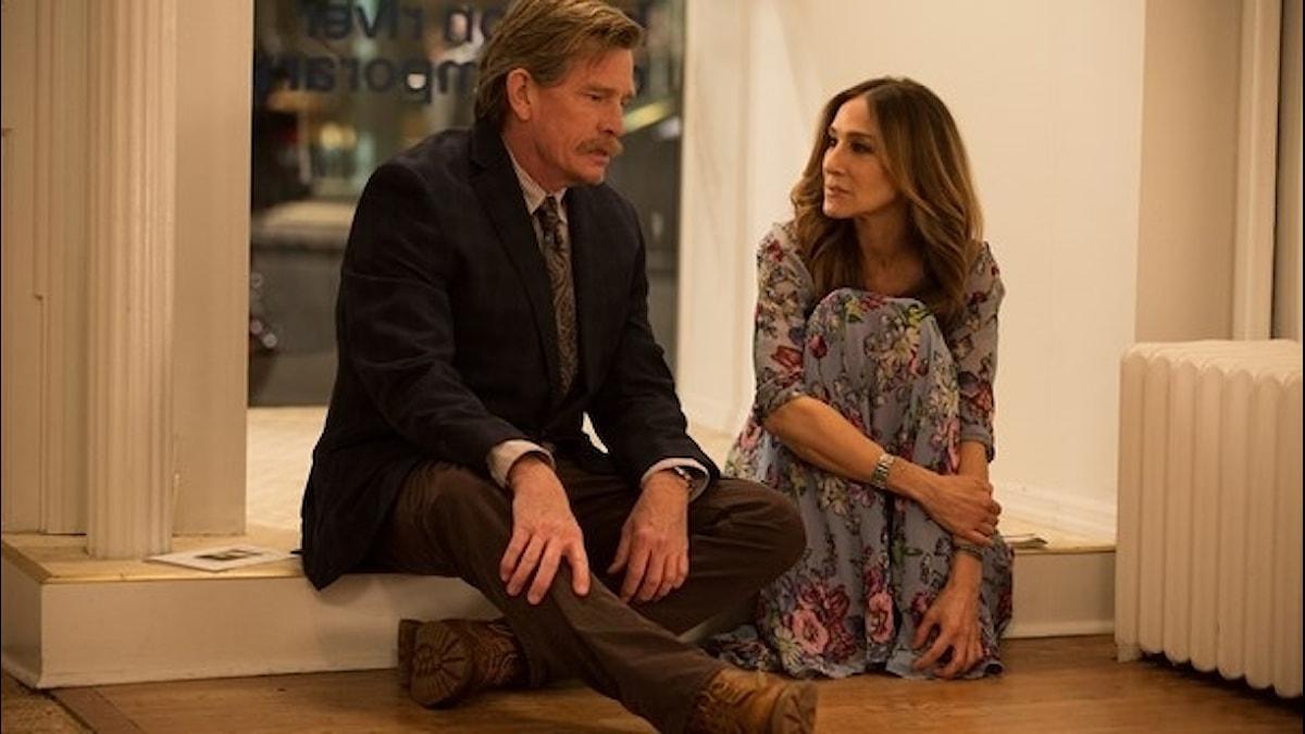 """Thomas Haden Church och Sarah Jessica Parker i HBO-serien """"Divorce"""""""