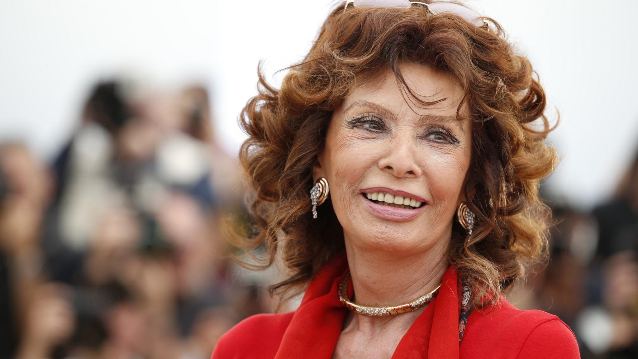 Sophia Loren – håller stilen med glamour och god mat