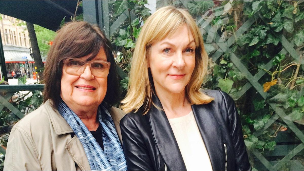 Margareta van den Bosch och Susanne Ljung