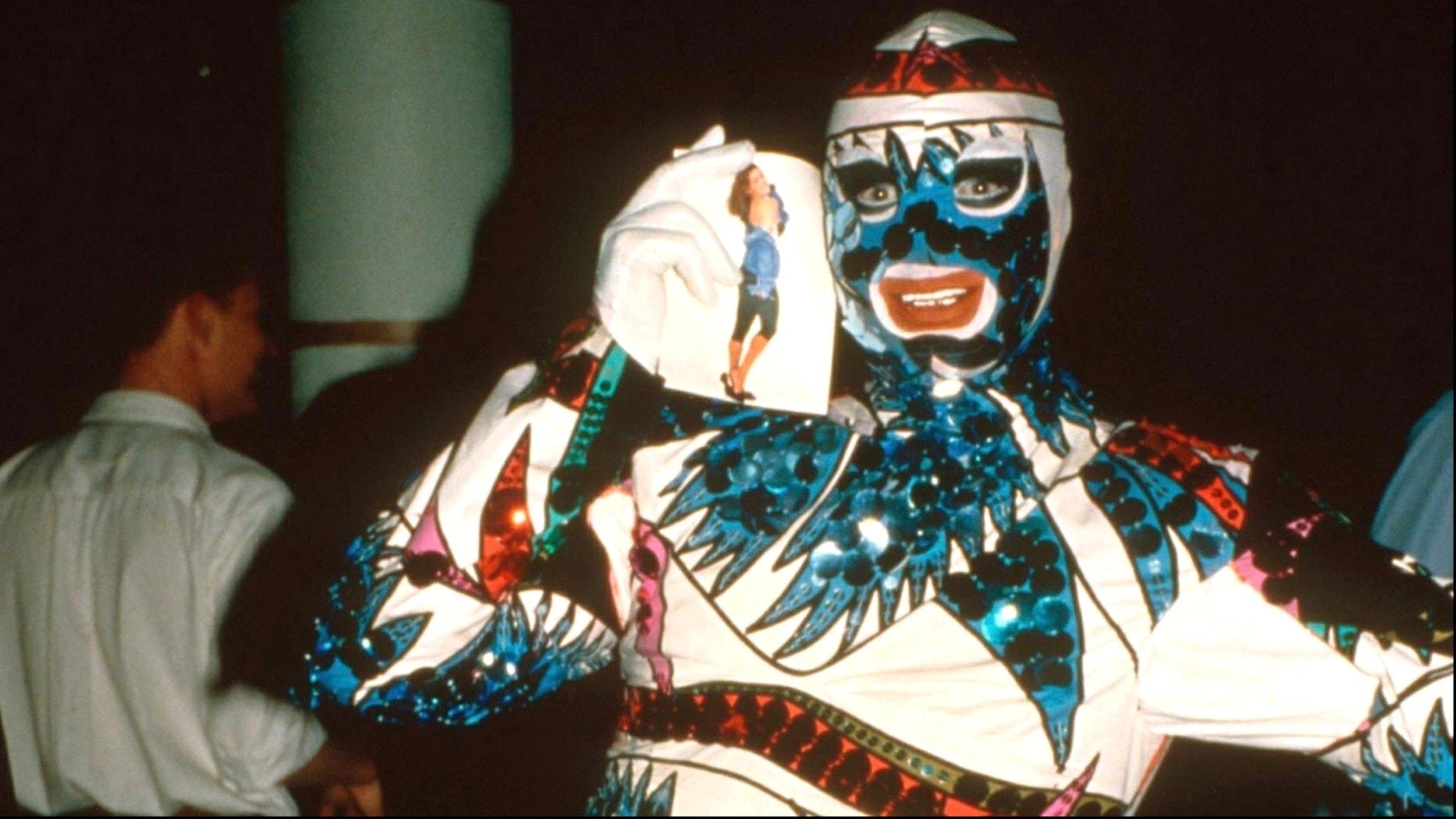 Leigh Bowery på fest 1988.