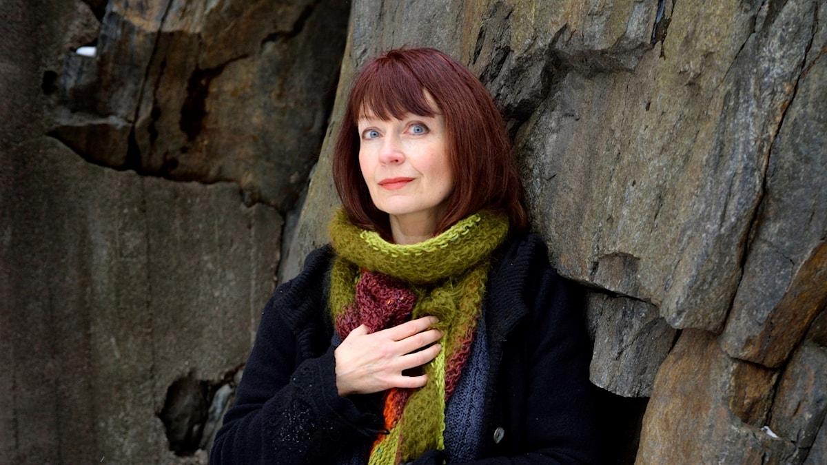 """Författaren Inger Edelfeldt, aktuell med novellsamlingen """"Kläderna"""", är en av personerna som medverkar i veckans Stil Special."""