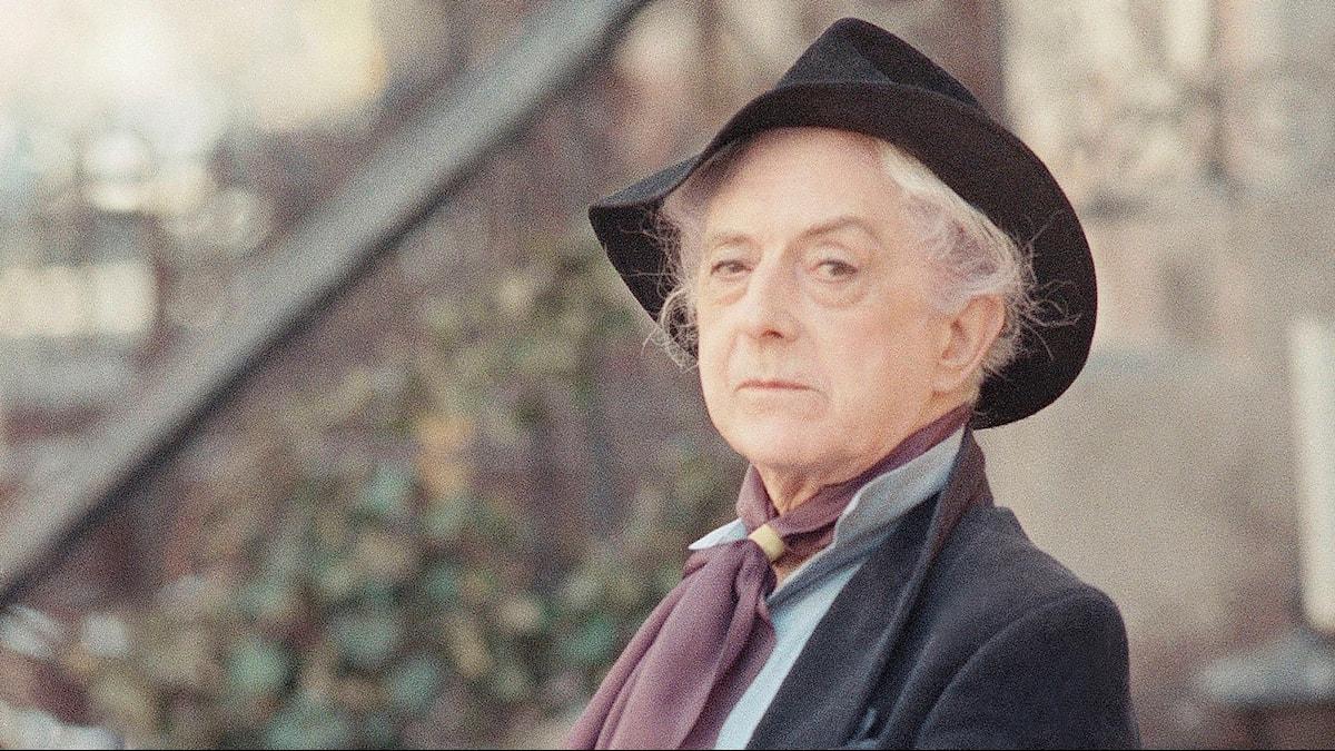 Quentin Crisp i New York 1989.