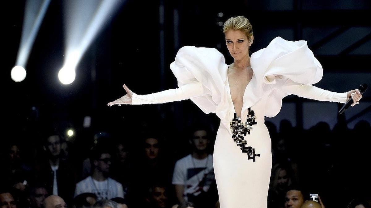 """Celine Dion uppträder med """"My Heart Will Go On"""" på Billboard Music Awards i maj 2017 i Las Vegas."""