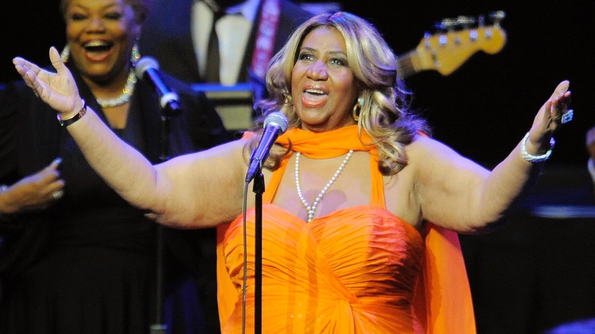 Aretha Franklin – den sista artisten som vågade lita på sin egen (kläd)smak?