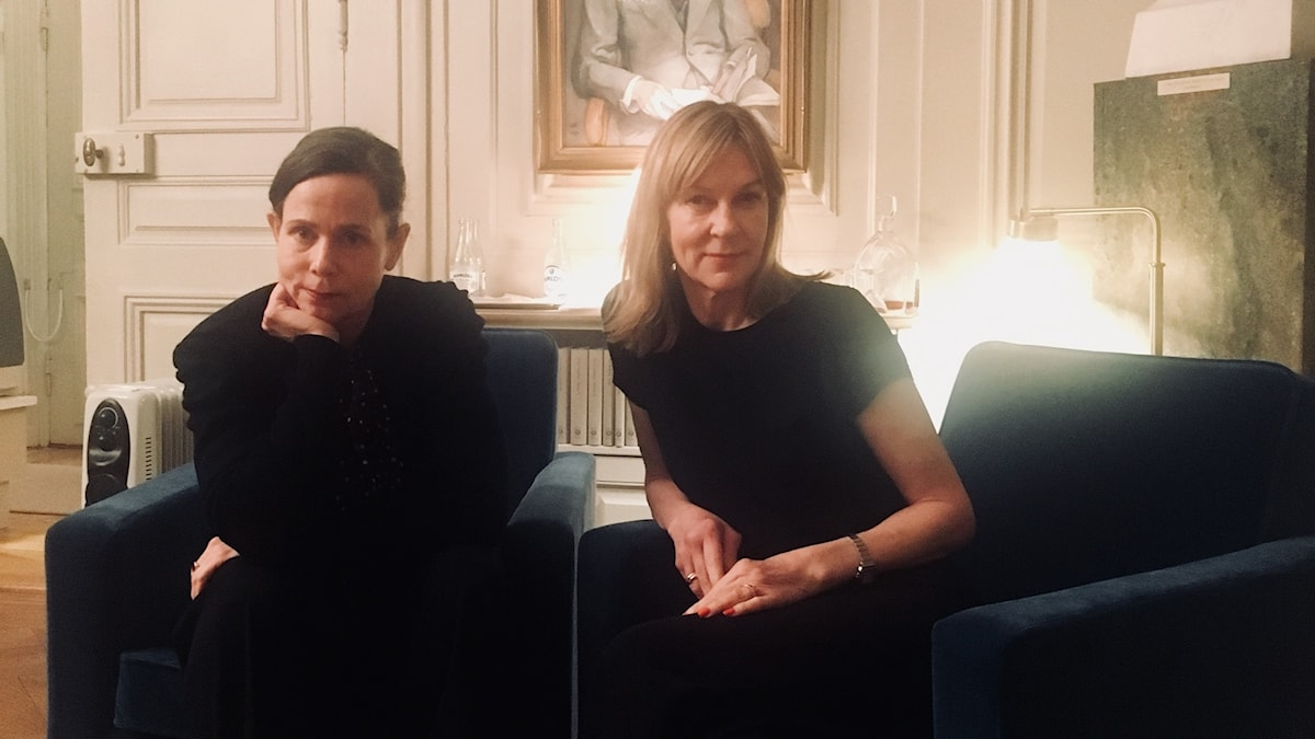 Sara Danius och Susanne Ljung