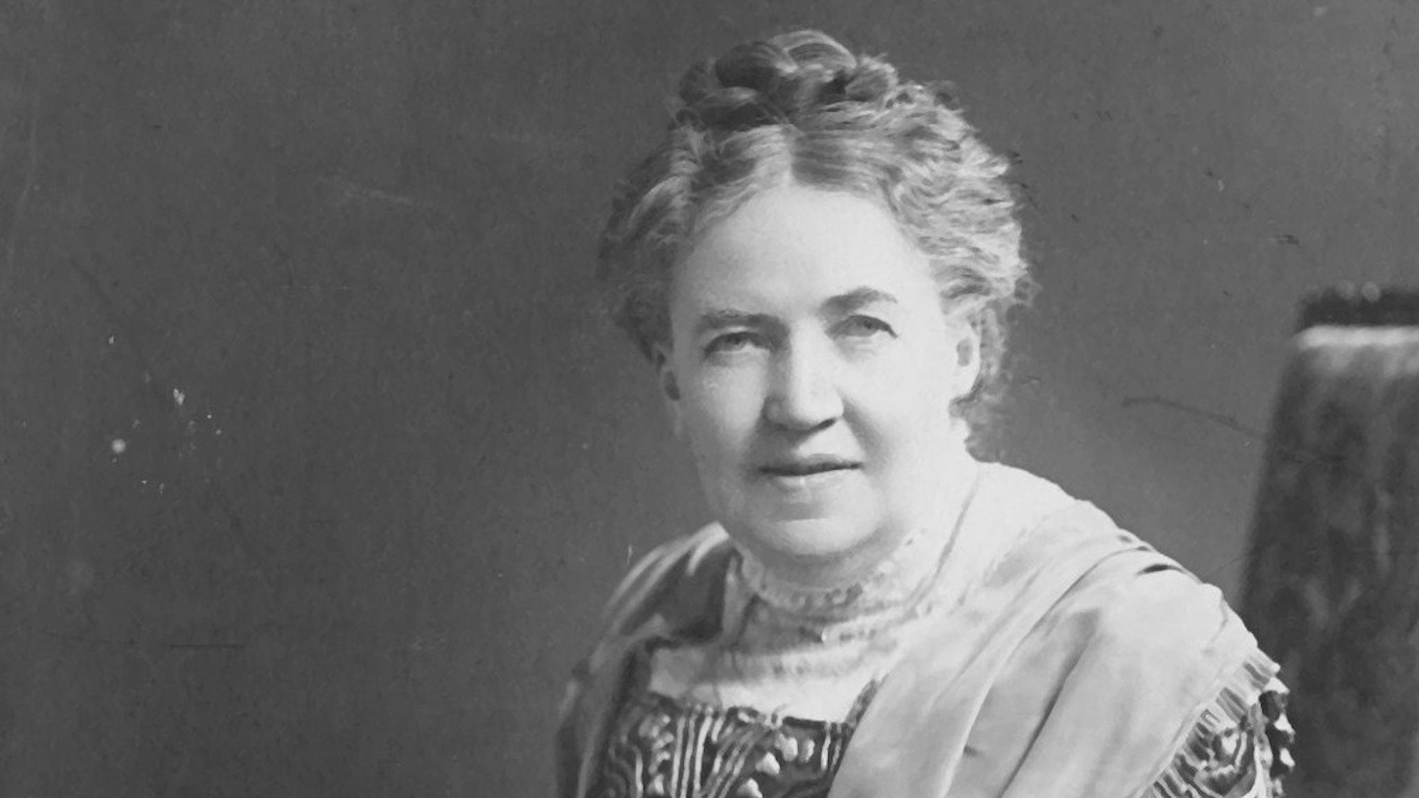 Det sista porträttet som togs av Sofia Gumaelius 1915. Hon var då 74 år gammal.