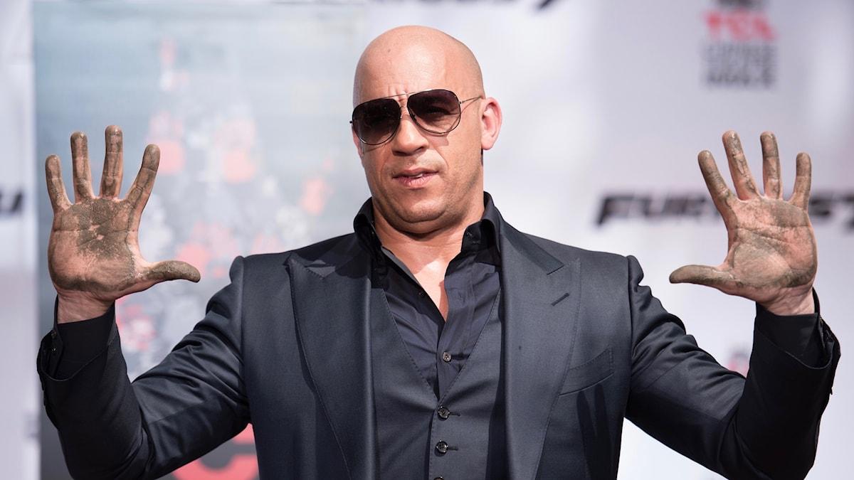 Actionskådespelaren Vin Diesel.