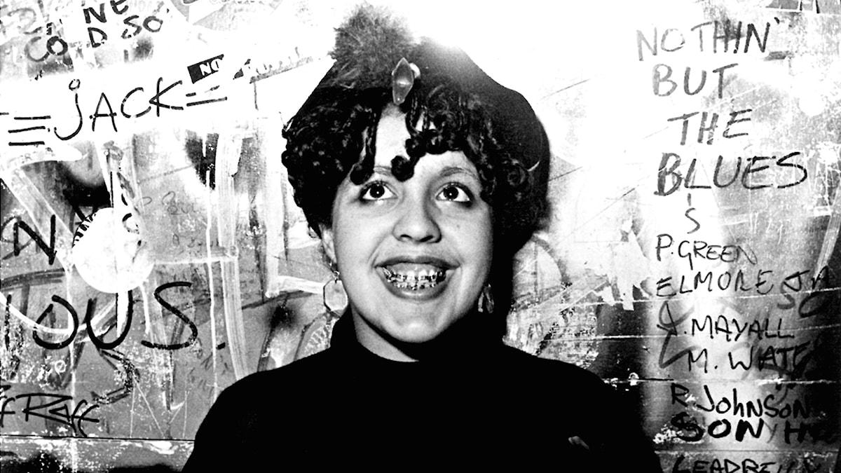 Poly Styrene från bandet X-Ray Spex.