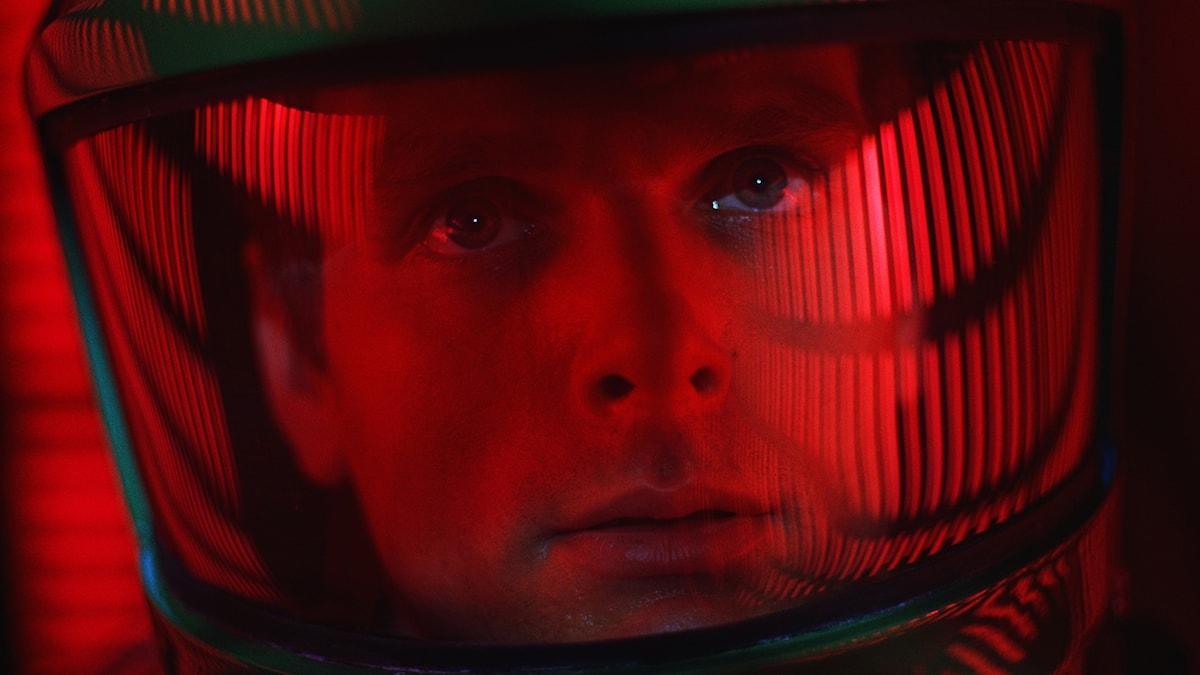 Skådespelaren Keir Dullea i 2001 - ett rymdäventyr.