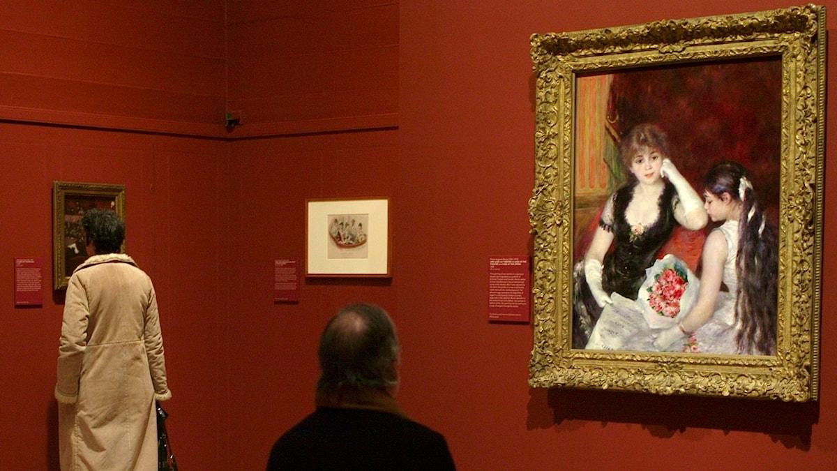 Är konstmuseer en plats för flirt och förförelse? Det undersöker vi i veckans program.
