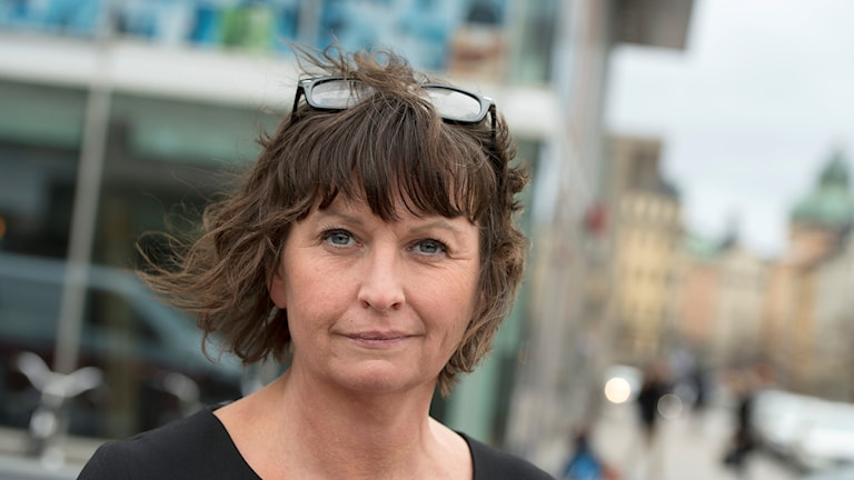 Bild på Aftonbladets chefredaktör/publisher Sofia Olsson Olsén