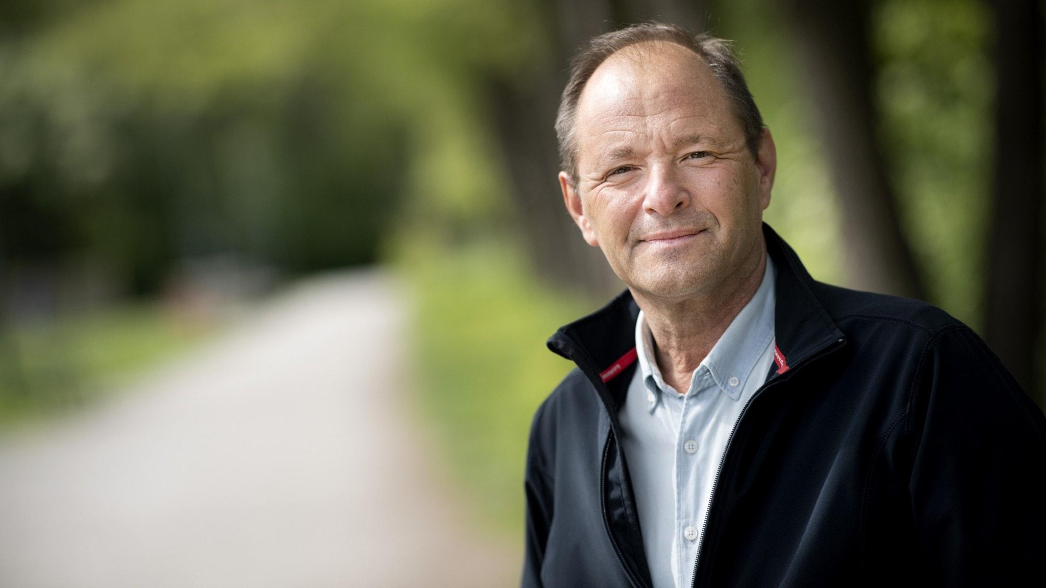 Björn Olsen, en av de mest framträdande coronaexperterna i medierna.