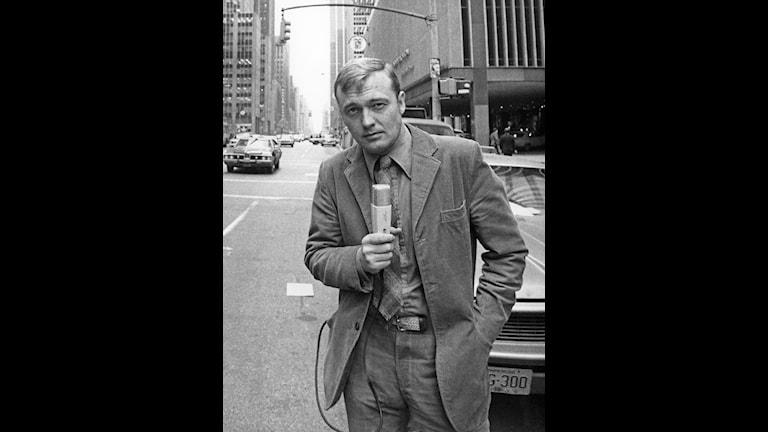 Bo Holmström i New York 1971
