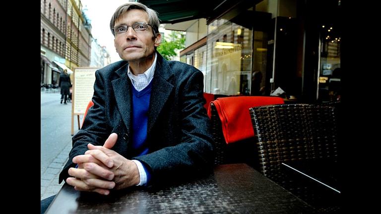Per Svensson, författare och journalist. Foto: Jurek Holzer/TT Nyhetsbyrån