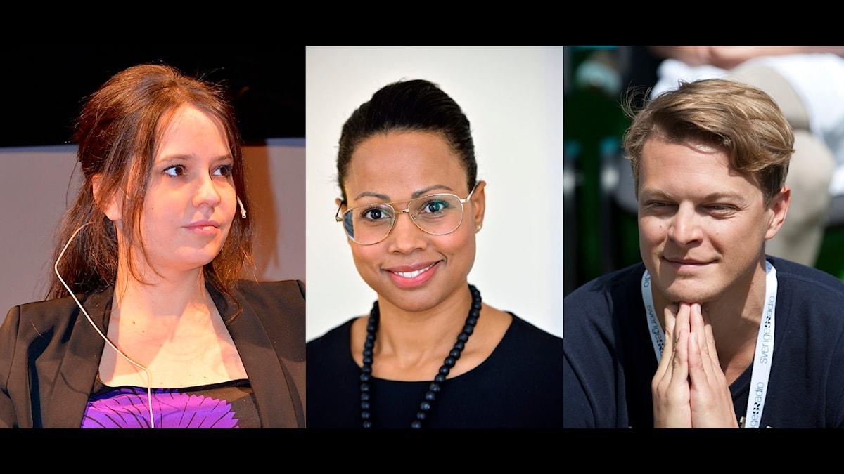 Karin Olsson, Alice Bah Kuhnke och Björn af Kleen i samtal om medieåret som gått.