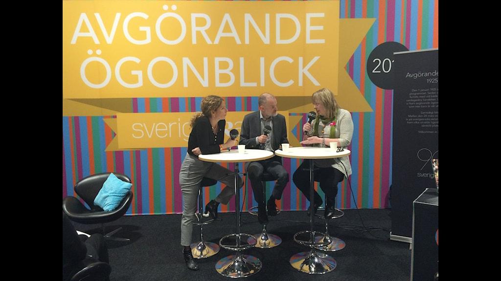 Sveriges Radio och Mittmedia i debatt