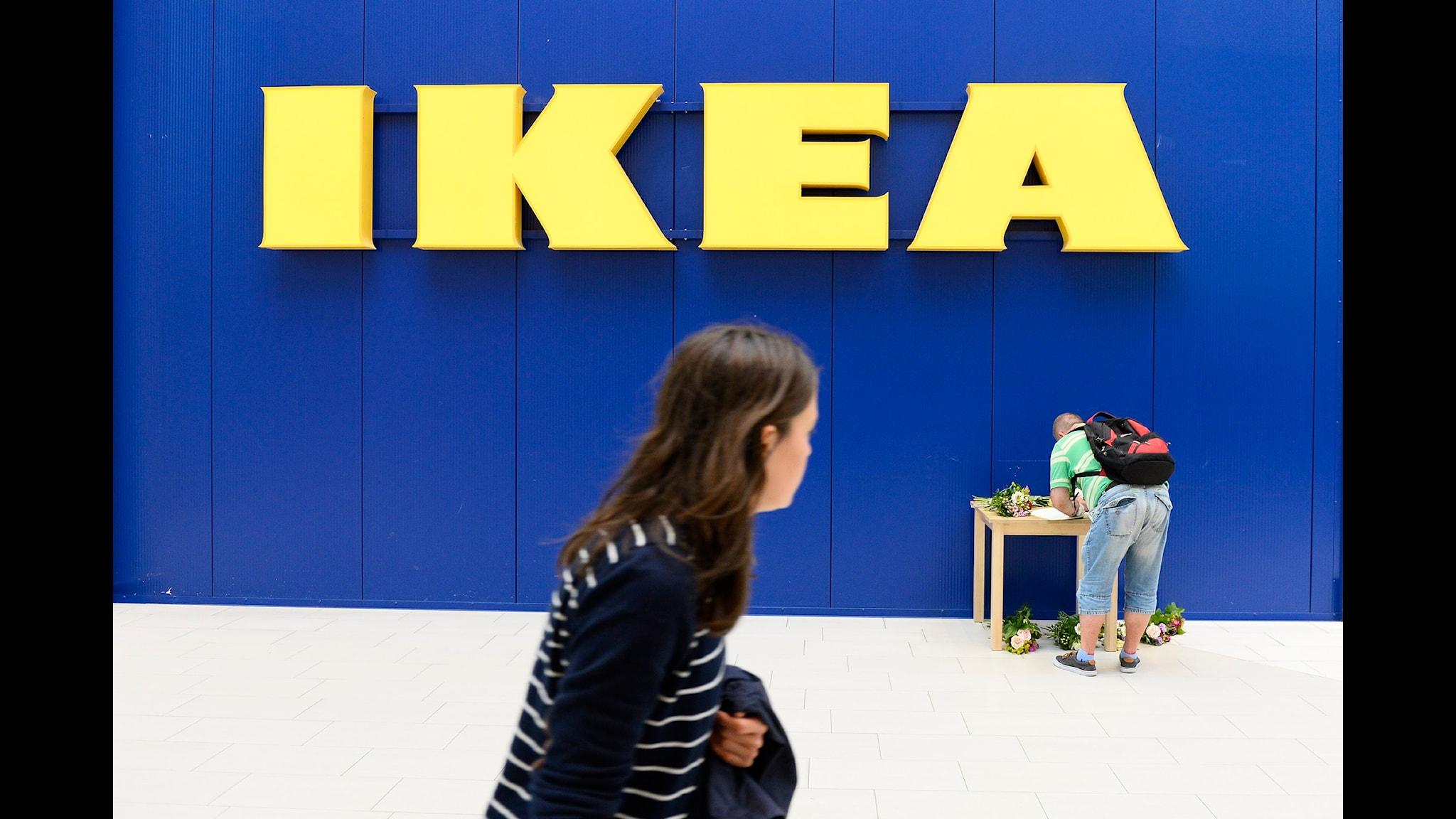 Morden på Ikea i Västerås kastade en skugga i medierna. Foto: Anders Wiklund/TT
