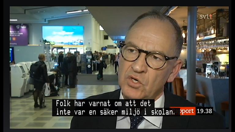 Bo Jansson, Lärarnas riksförbund i Rapport.
