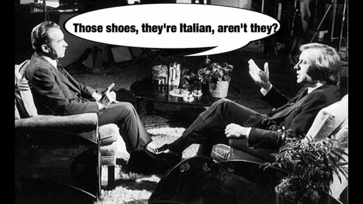 Frost intervjuar Nixon 1977.
