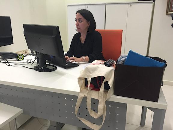 Chefredaktör Sevgi Akarcesme, Today's Zaman