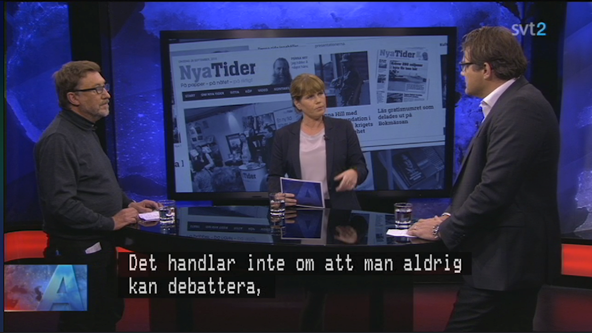 Aktuellts debatt om debatten väckte fler frågor än svar