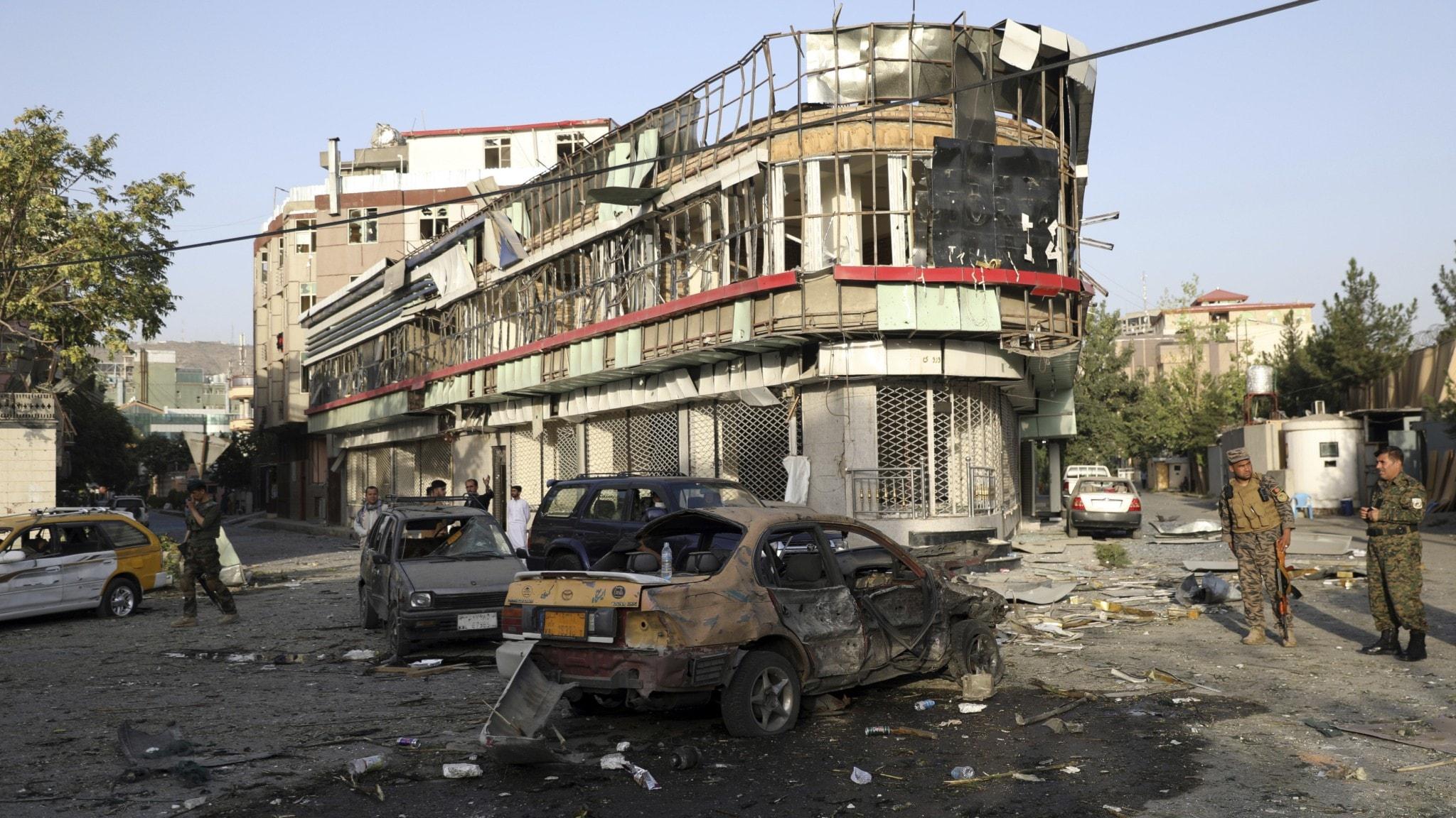 Afghanistan Explosion