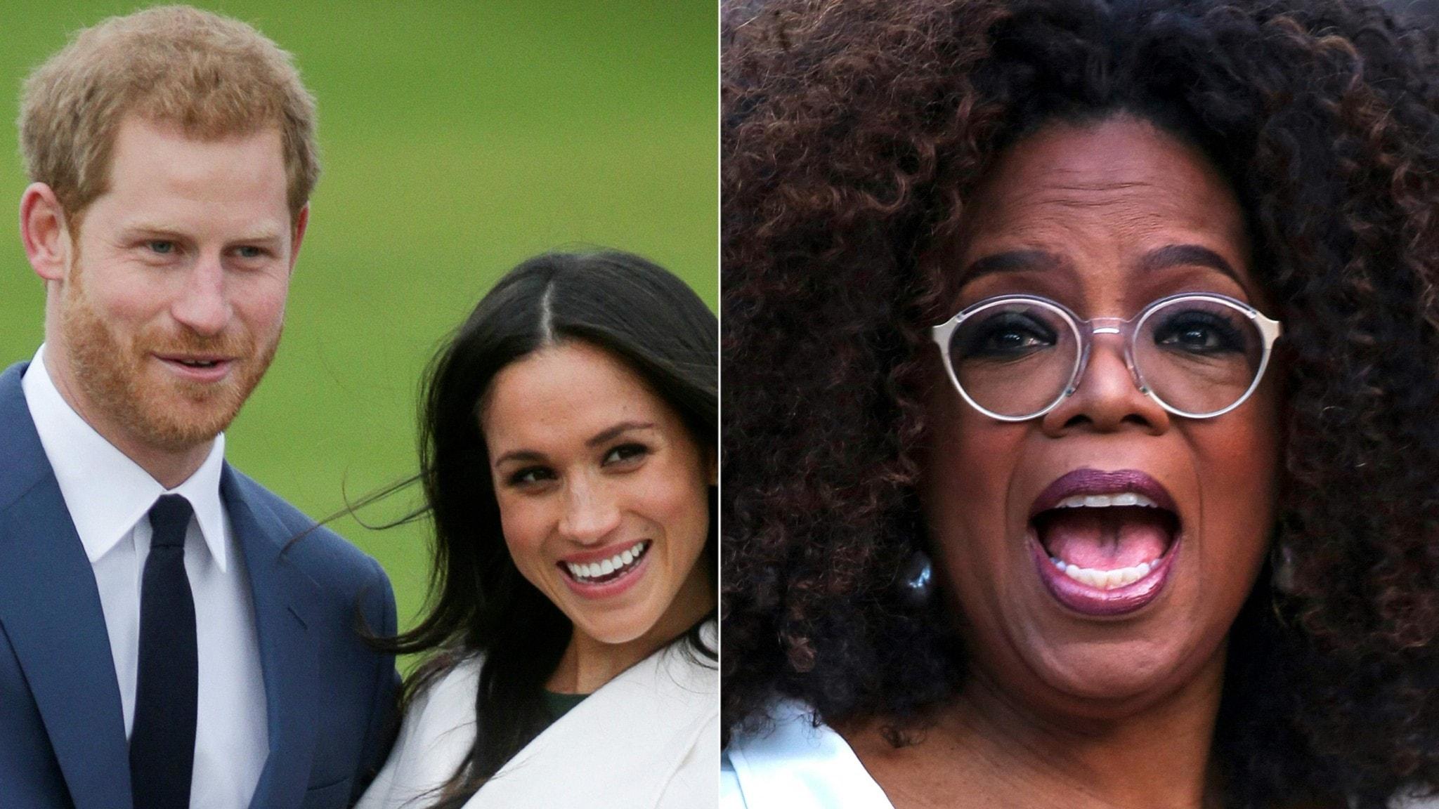 Harry, Meghan och Oprah