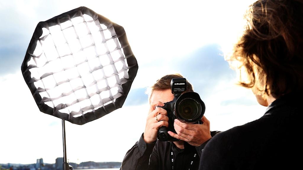 Renodlade fotografer är ovanliga på svensk lokaltidningar.