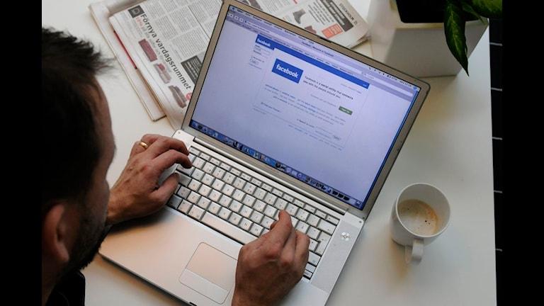 Facebook i datorn