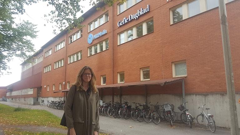 Maria Carlsson, Gefle Dagblad.