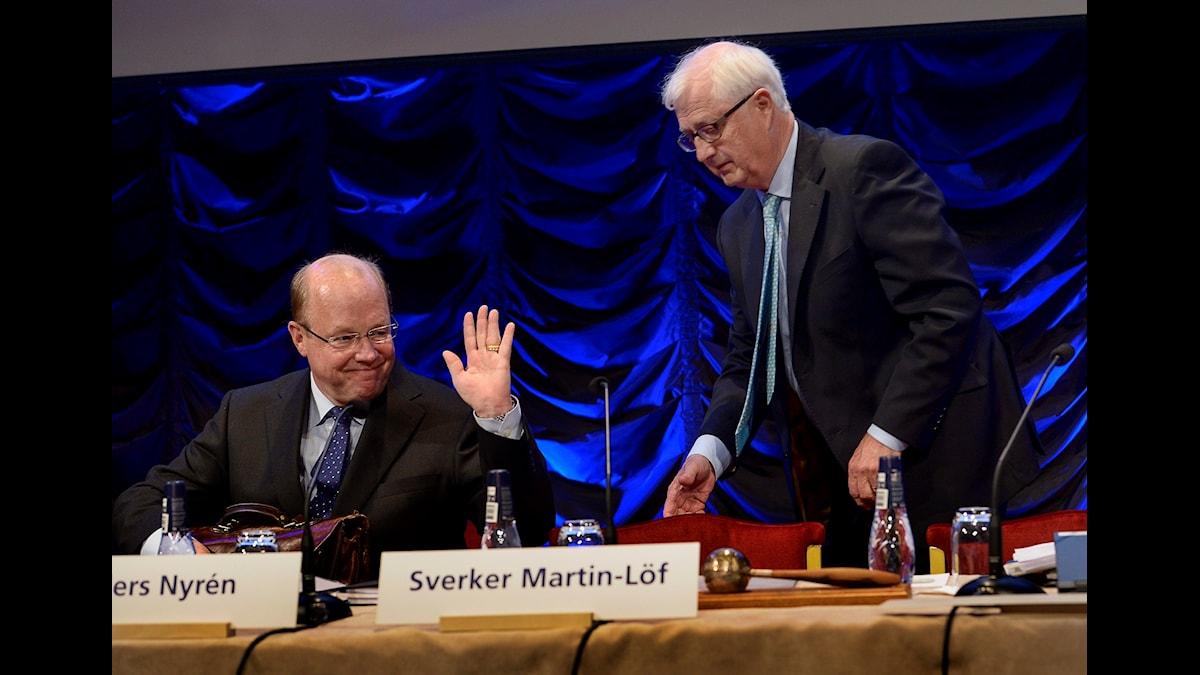 Sverker Martin-Löf gör sorti
