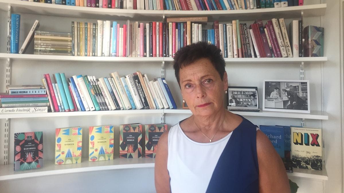 Dorotea Bromberg, VD och förlagschef för bokförlaget Brombergs