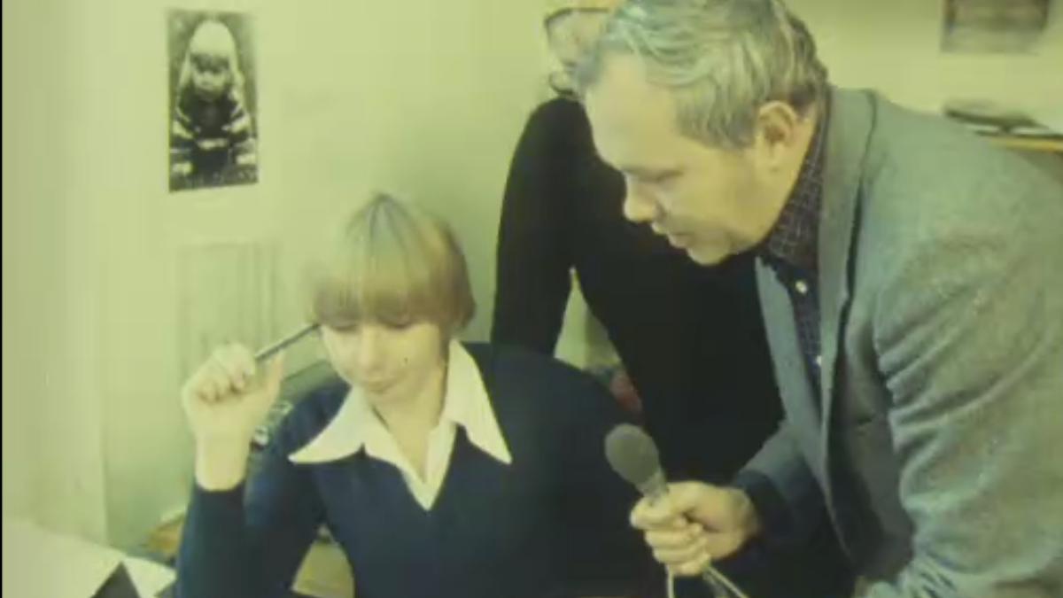 Inger Ramqvist blir intervjuad 1978/1979 av en nyhetsreporter om Aftonbladets kvinnoredaktion som kom till efter Dokumentet.